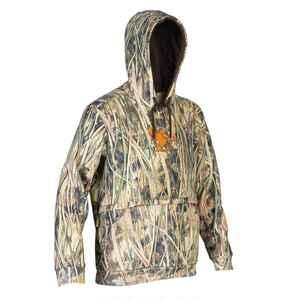 Jagd-Kapuzensweatshirt 500 Camouflage Schilf