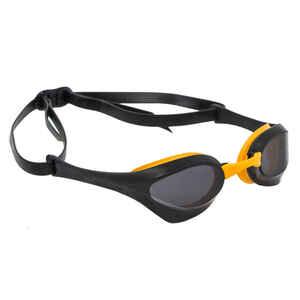 Schwimmbrille Arena Cobra Ultra Dark getönt schwarz/gelb