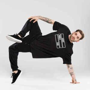 Tanz-Shirt Urban Dance Motiv Herren schwarz