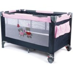 Chic 4 Baby Reisebett Luxus Pink Checker