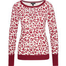Bild 1 von MANGUUN Collection Pullover, Rundhals, Rippdetails, Label-Emblem, für Damen