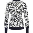 Bild 2 von MANGUUN Collection Pullover, V-Ausschnitt, Rippdetails, Label-Emblem, für Damen