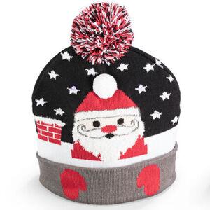 Capelli LED Mütze Weihnachtsmann