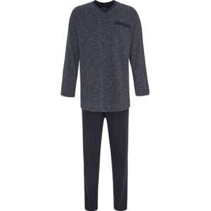 Dunmore Pyjama, Rundhals, Baumwolle, für Herren