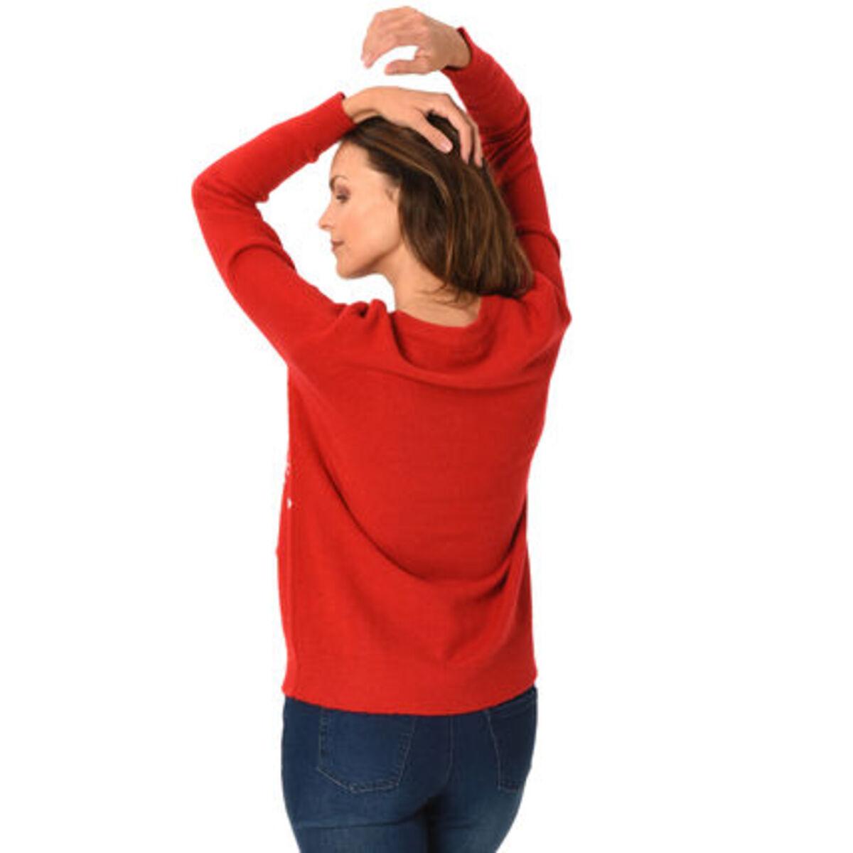Bild 2 von MANGUUN Pullover, Weihnachtsmotiv, für Damen