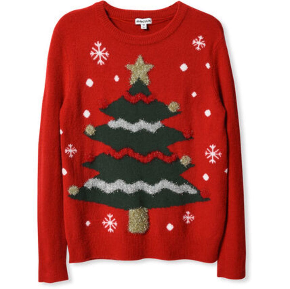 Bild 4 von MANGUUN Pullover, Weihnachtsmotiv, für Damen