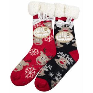 Taubert Weihnachtssocken, Cosys, Teddyfutter, für Damen