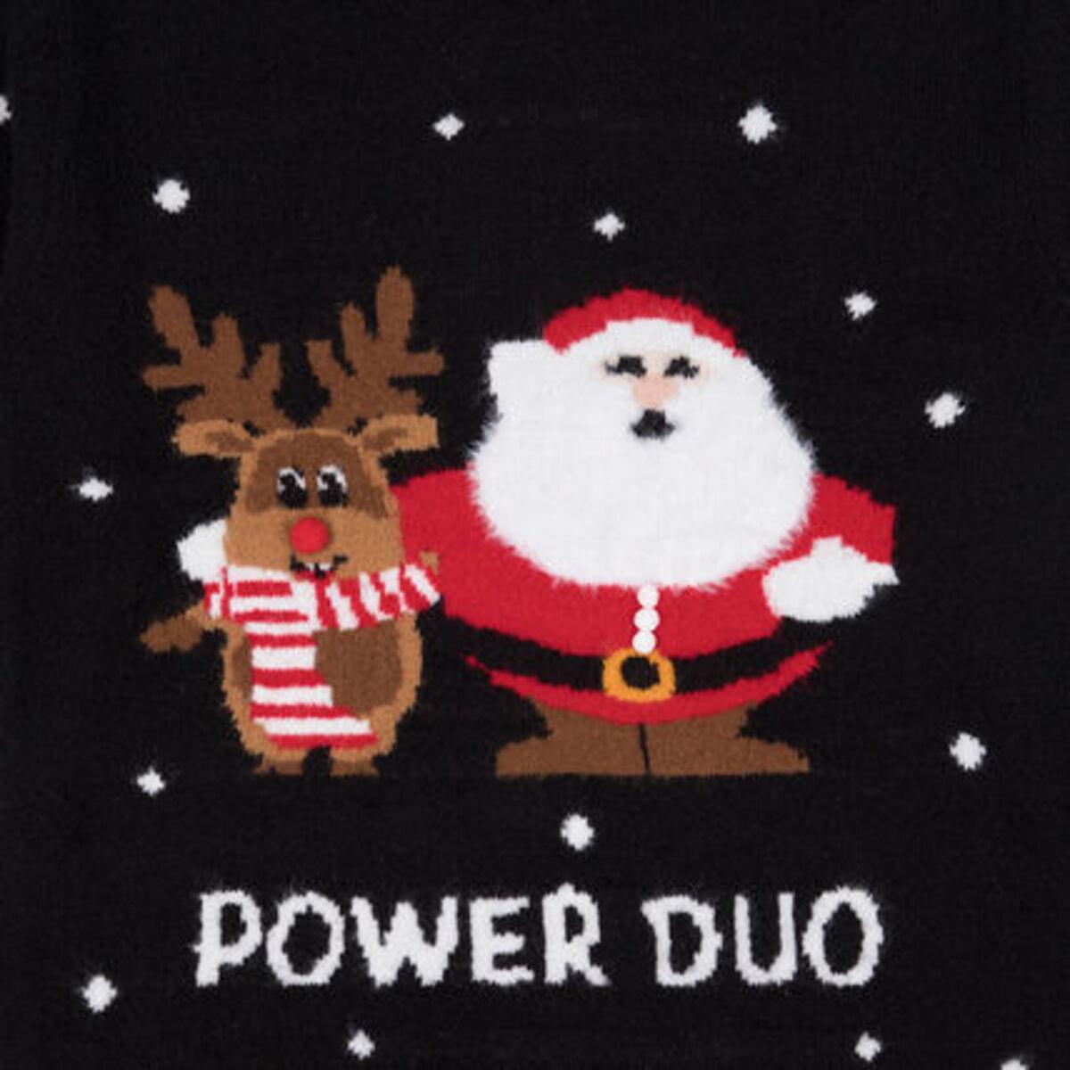 Bild 3 von MANGUUN Weihnachtspullover, Bommel-Applikationen, für Mädchen