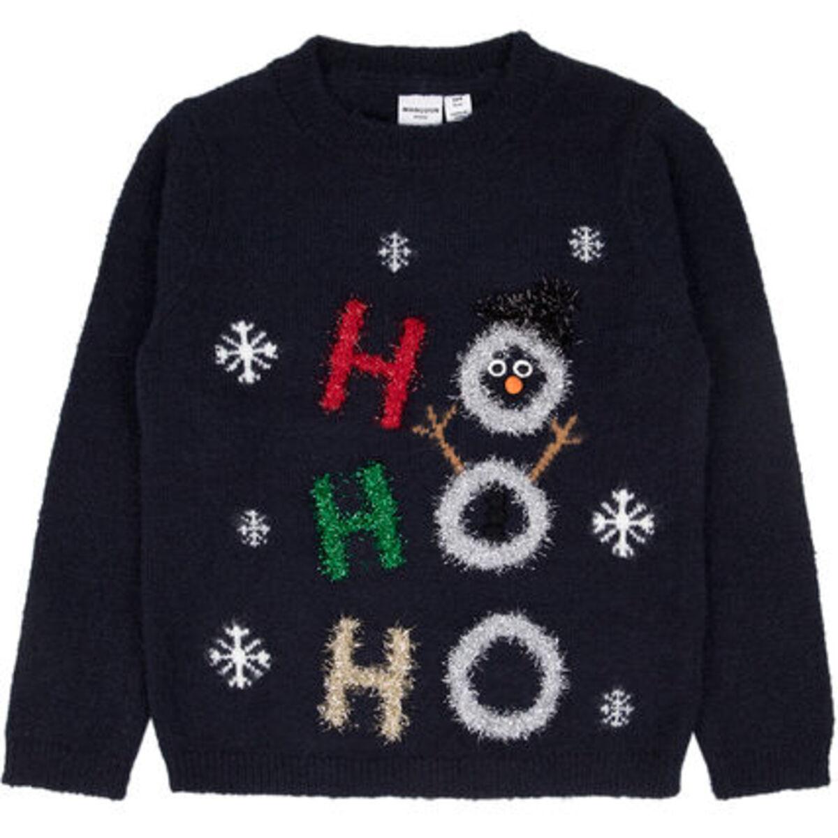 Bild 1 von MANGUUN Weihnachtspullover, Glitzerapplikationen, für Mädchen