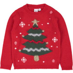 MANGUUN Weihnachtspullover, Glitzerapplikationen, für Mädchen