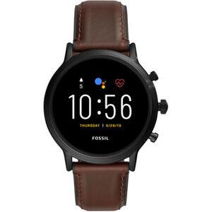 "Fossil Herren Touchscreen Smartwatch Carlyle HR ""FTW4026"""