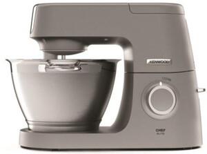 KENWOOD Küchenmaschine Chef Elite KVC 5401.S + Zubehörpaket (1200 Watt, 4,3 l, Patisserie, Mixaufsatz, Fleischwolf, Zerkleinerer, planetarisch)