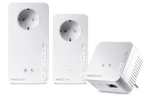 DEVOLO Magic 1200+ WiFi Multiroom Kit Powerline (Mesh-WLAN, 1200 Mbit/s)