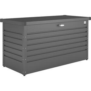 Biohort Kissenbox , Freizeitbox 130 , Dunkelgrau , Metall , 134x71x62 cm , pulverbeschichtet, verzinkt , Deckel, regenabweisend, UV-beständig , 001284000209