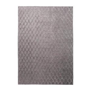 Esprit Handwebteppich 60/110 cm taupe , Cyclone , Textil , Abstraktes , 60x110 cm , für Fußbodenheizung geeignet, in verschiedenen Größen erhältlich , 007606026152