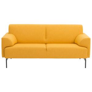Rolf Benz Sofa gelb , RB 310 , Textil , Uni , 3-Sitzer , 182x81x91 cm , lackiert , Typenauswahl, Lederauswahl, Stoffauswahl , 000166010001