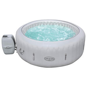 Bestway Whirlpool lay-z-spa paris bis zu 6 personen grau , 60013 Lay-Z-Spa Paris , Kunststoff , 71 cm , 003585002501