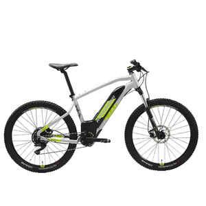 Mountainbike E-ST 520 27,5 Zoll grau/gelb