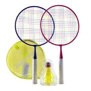 Badminton-Set Discover Kinder rot/blau