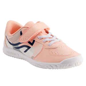 Tennisschuhe TS130 Turnschuhe Kinder pink/weiss