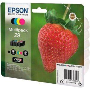 Epson »T2986, 29 Original Kombi-Pack Schwarz, Cyan, Magenta, Gelb C13T29864012« Tintenpatrone