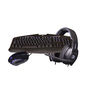 Hyrican Striker Gaming Spar Set RGB Maus, Tastatur und Headset »ST-GKB8003/ GM082/ SA-927«