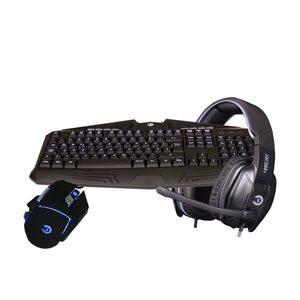 Hyrican Striker Gaming Spar Set, RGB Maus, Tastatur+ Headset »ST-GKB8003/ GM551/SA-927«