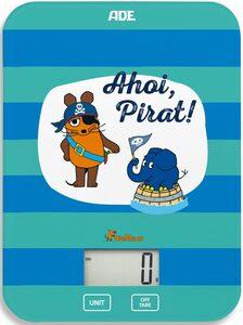 """ADE Küchenwaage »KE1802 Maus – Edition Abenteuer """"Ahoi Pirat""""«"""