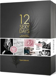 Bijoux Indiscrets Monatskalender »12 Sexy Days«, Hochwertige Geschenkbox mit 12 Türchen