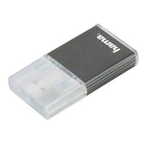 Hama USB-3.0-UHS-II-Kartenleser, SD, Alu, Anthrazit