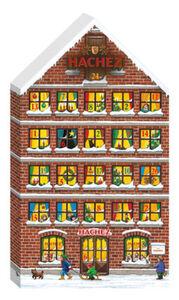 Hachez Adventskalender Haus, 250 g