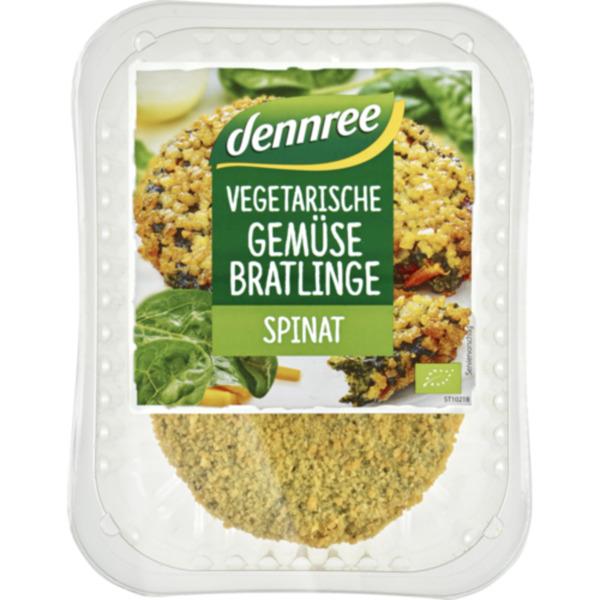 dennree Gemüse-Bratlinge, vegetarische Schnitzel, Falafel oder Bällchen