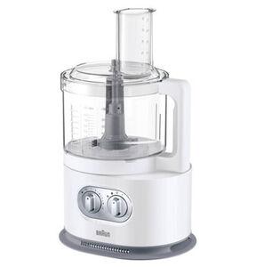 Braun Kompakt-Küchenmaschine FP 5160 IdentityCollection, weiß