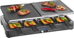 CLATRONIC  Raclette-Grill mit heißem Stein
