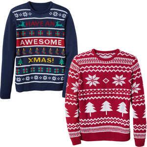 TOWNLAND®  Herren-Weihnachtspullover