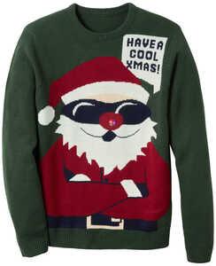 TOWNLAND®  Herren-Weihnachtspullover mit LEDs