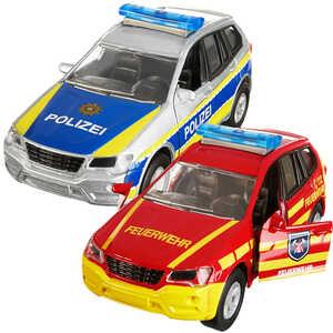 DICKIE  Einsatzfahrzeug Polizei oder Feuerwehr