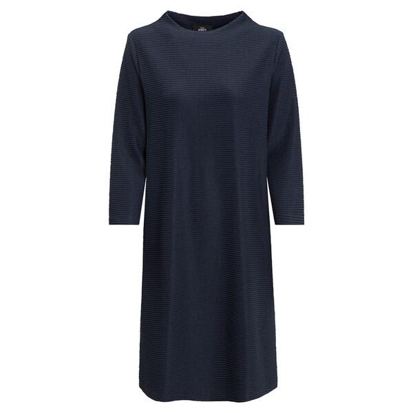 Damen Kleid mit Querrippen