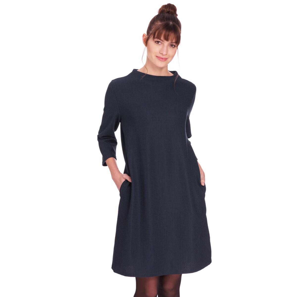Bild 2 von Damen Kleid mit Querrippen
