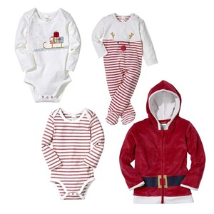 Baby-Body, -Jacke oder -Overall Größe: 56 - 86, je