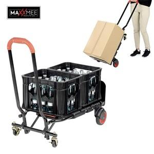 Kombi- Transportkarre einfach von Sackkarre auf Transportwagen umklappbar