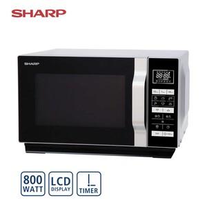 Mikrowelle R260S • 5 Leistungsstufen • 8 Automatik-Programme • Maße: H 27,1 x B 45,7 x T 38,0 cm