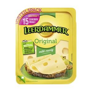 Leerdammer Scheiben Holländischer Schnittkäse, 45/48 % Fett i. Tr./17 % Fett absolut, und weitere Sorten, jede 260/300-g-Packung