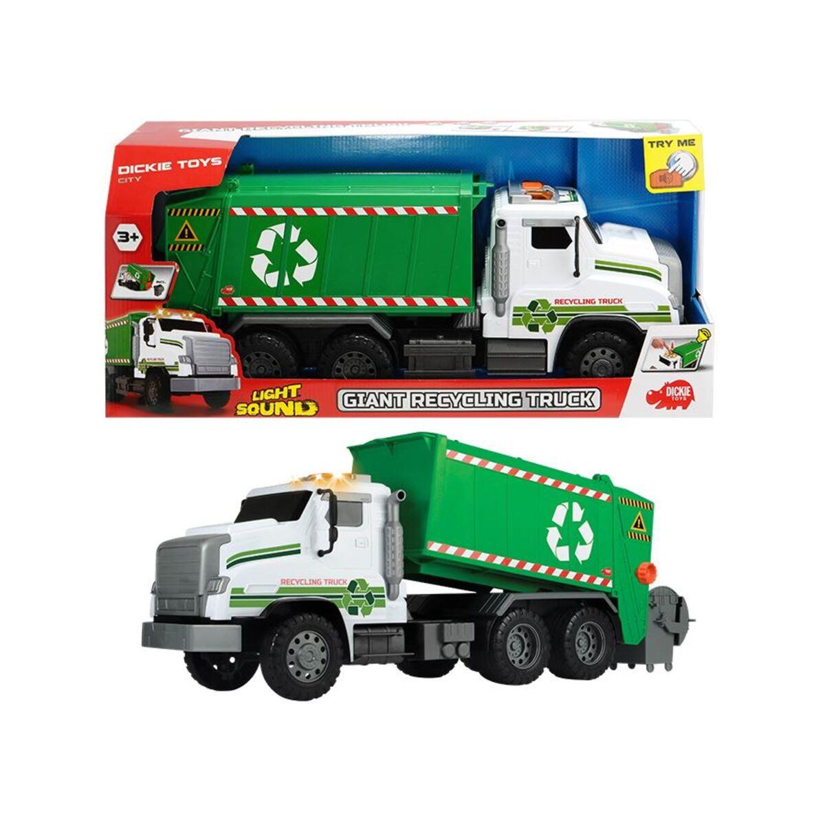 Bild 2 von Dickie Toys Riesiger Müllwagen