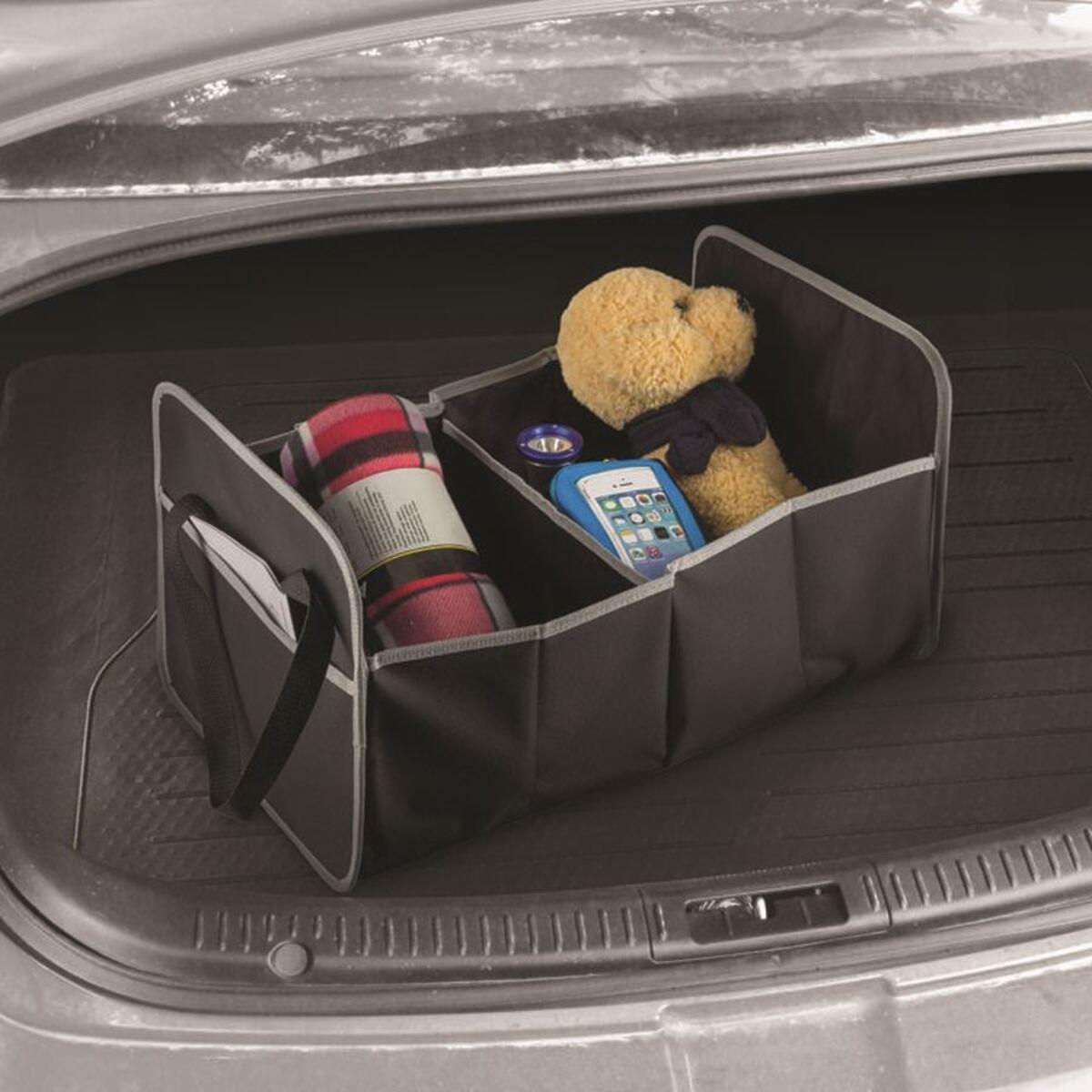 Bild 1 von Kofferraumtasche mit 2 Fächern Schwarz