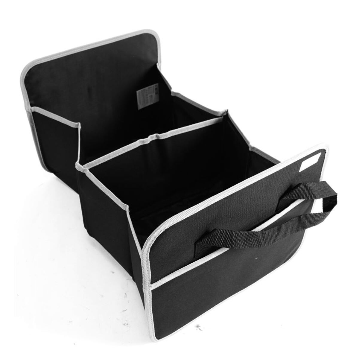 Bild 3 von Kofferraumtasche mit 2 Fächern Schwarz