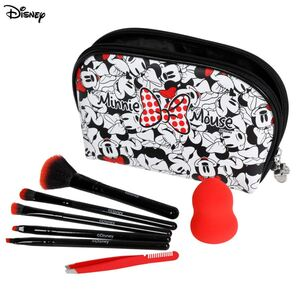 Minnie Mouse Kosmetikpinsel-Set 8-teilig