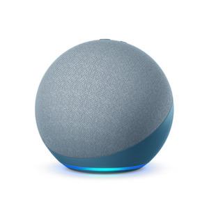 Amazon Echo (4. Generation) Smarter Lautsprecher mit Alexa, Blaugrau
