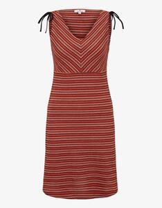 Tom Tailor - Kleid im Streifen-Look und Schulter-Detail