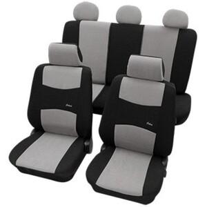 Diamond Car Universal-Auto-Sitzbezug-Set Colori, Grau